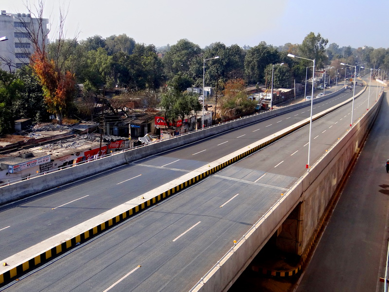 4 Lane Flyover on Rialto – Airport Road at Kitchlu Chowk in Amritsar