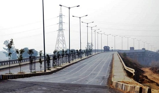 An ROB at crossing no.61, Rohtak in Haryana