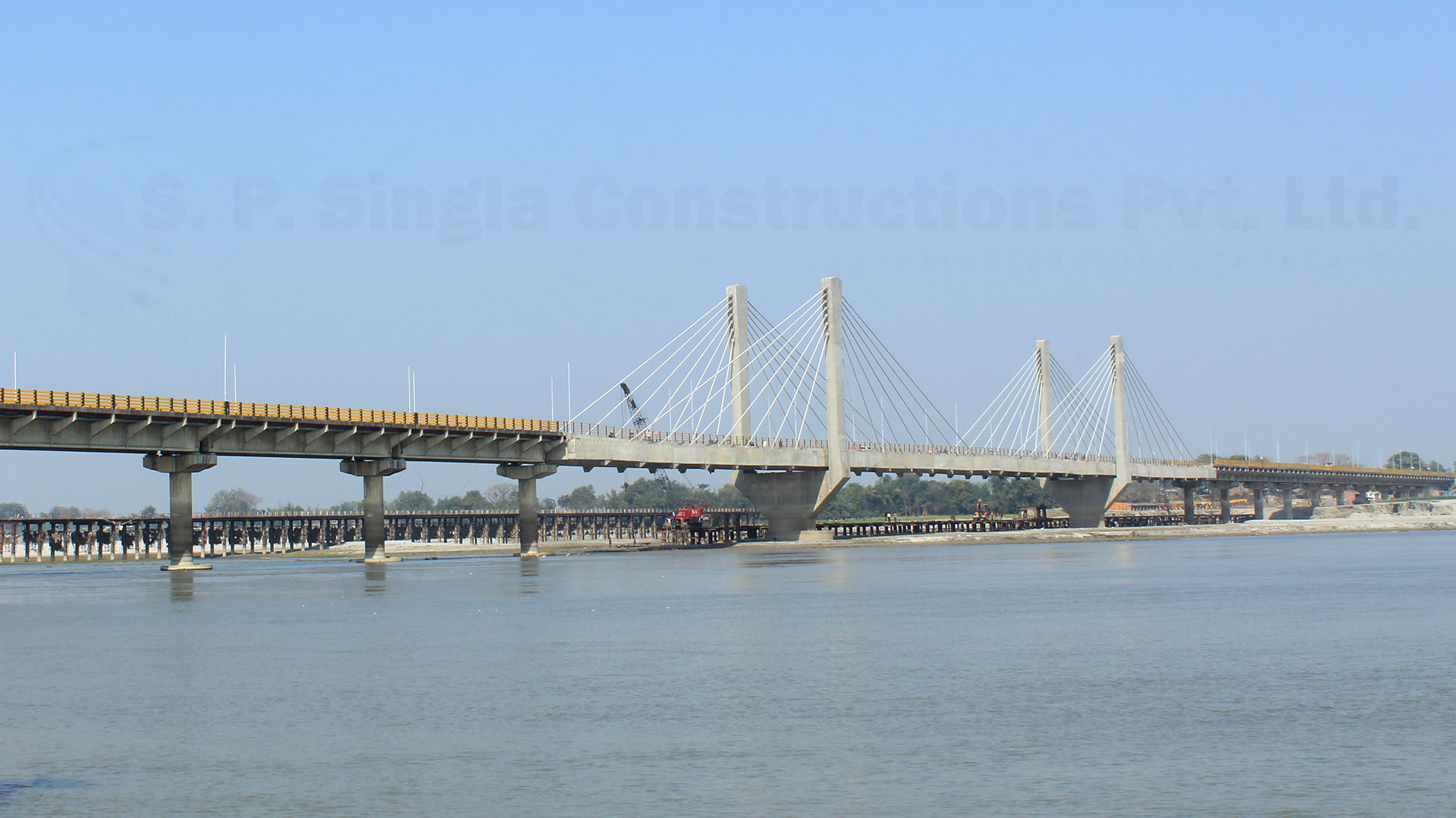 Re-construction of B.P.mandal Bridge over river Koshi at Dumrighat in the State of Bihar