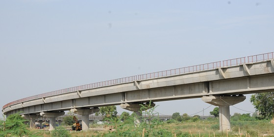 2.71 Km long Elevated Viaduct at Sarai Kale Khan for DMRC, New Delhi