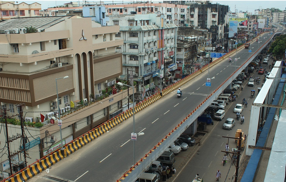 Flyover at Mithapur ROB to Chiraiyatand in Patna city