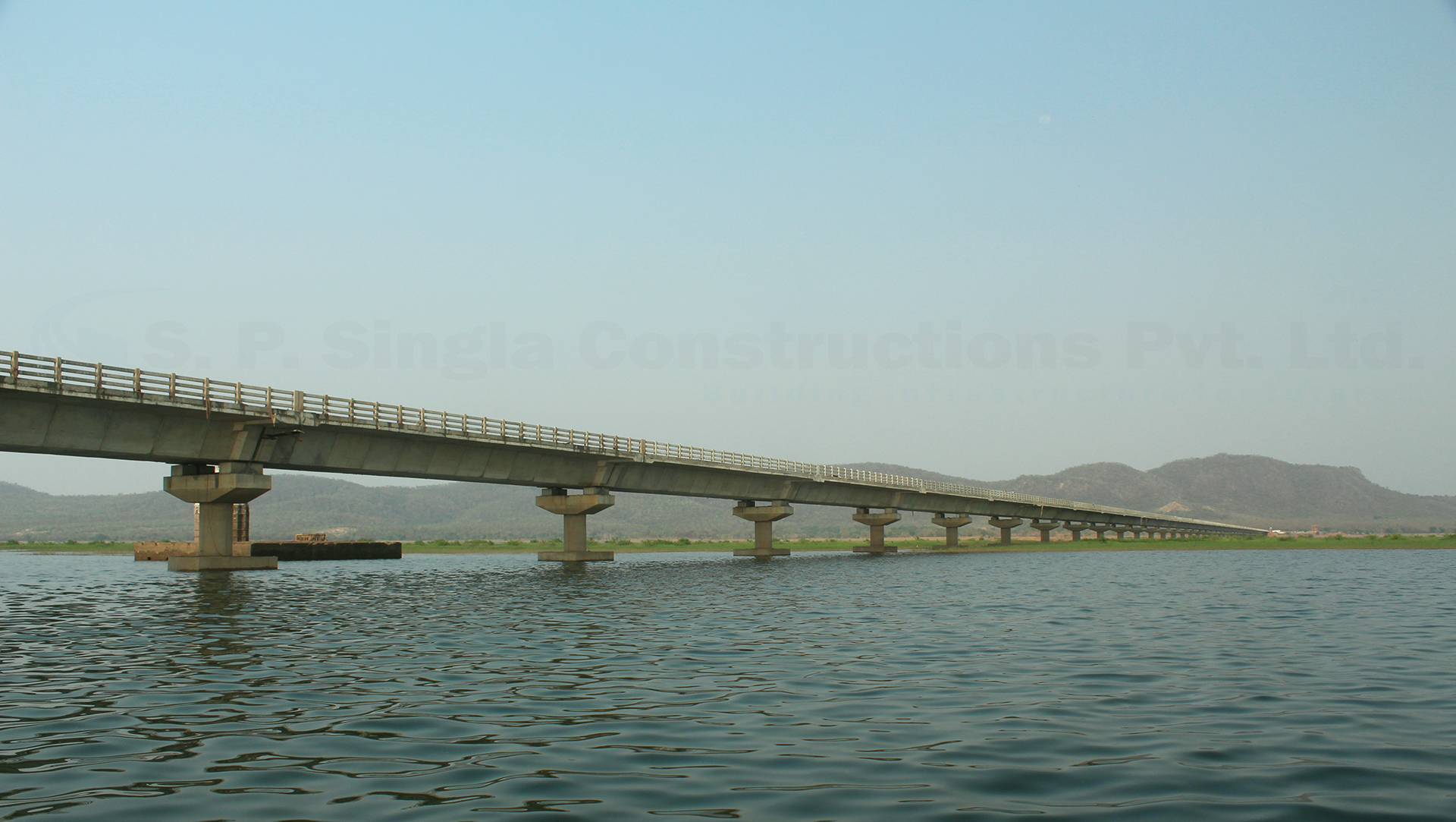 2.50 Km Long High Level Bridge on river IB in Jharsuguda district, Odisha