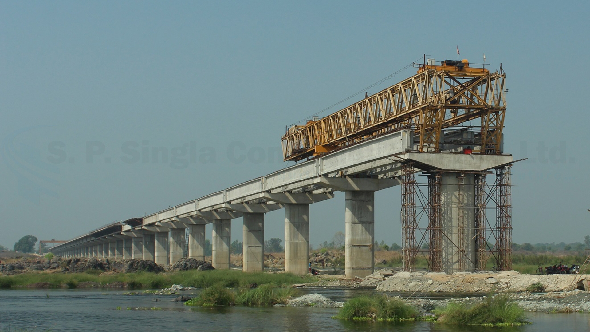 1.50 Km Long High Level Bridge over river Mahanadi at Nelson Mandela Chowk in Sambalpur district, Odisha