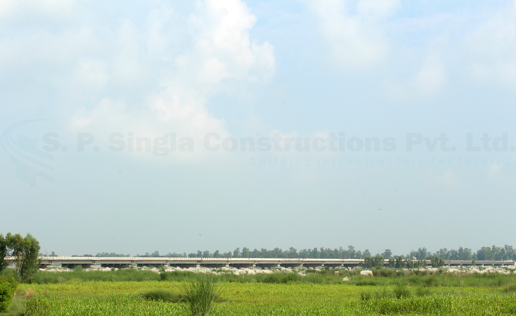 9.90 Km Long 4 Lane Bypass from Km 158.350 to 166.925 of NH-15 (new NH No. 54) at Harike in Punjab on EPC mode