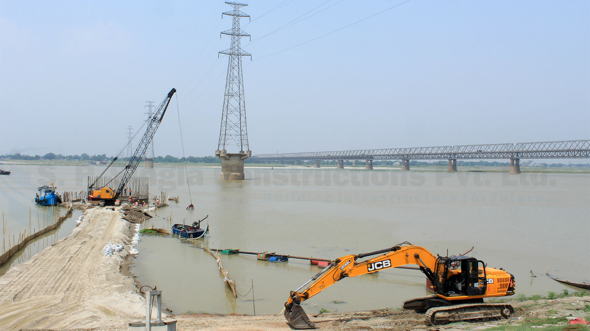 Extradosed Bridge across the Ganges on NH-31 Aunta-Simaria, Mokama (JV)