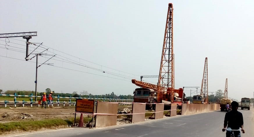 Construction of 2nd Flyover at Kishanganj town in the state of Bihar on EPC mode