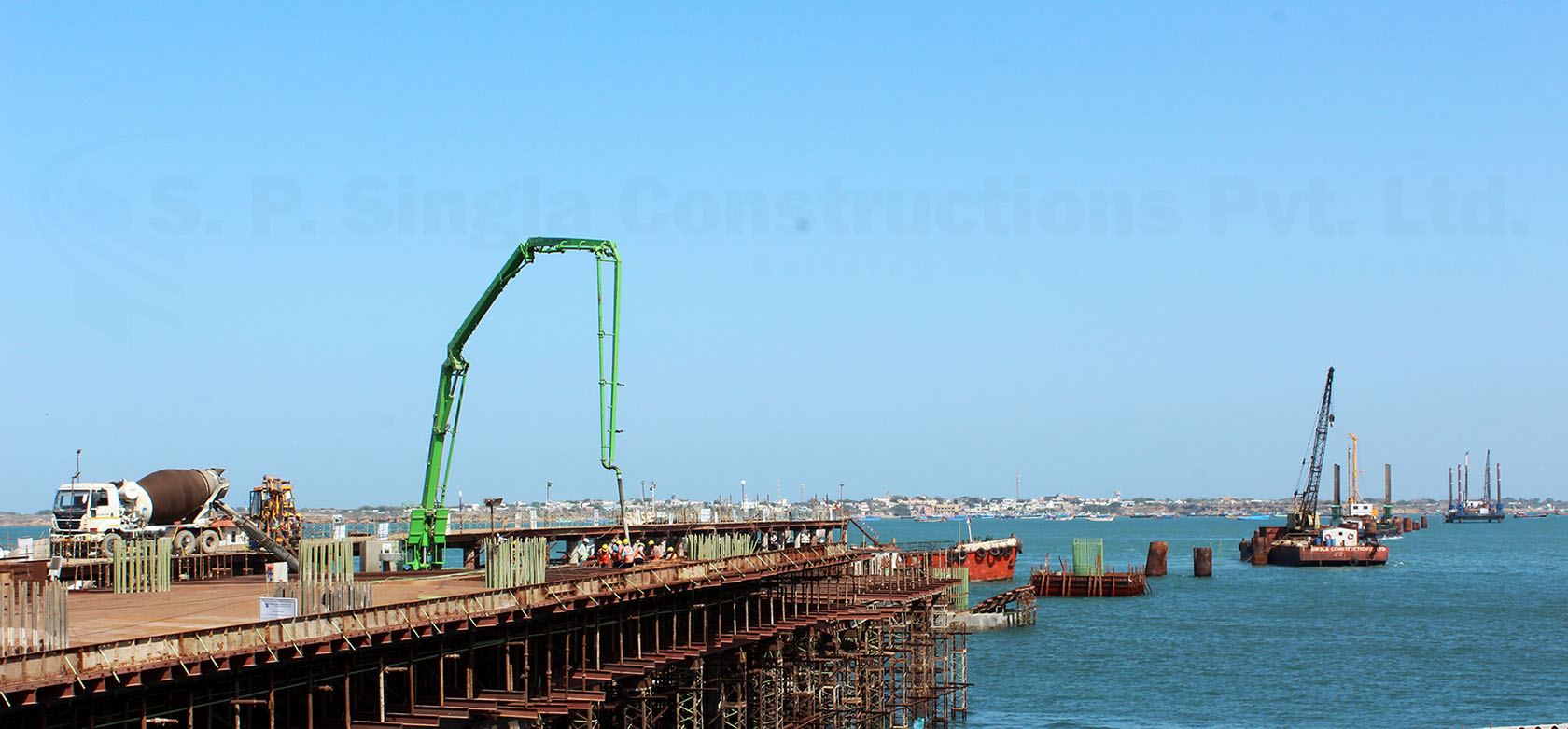 4 Lane Signature Bridge between Okha & Beyt Dwarka on EPC Mode,Gujrat