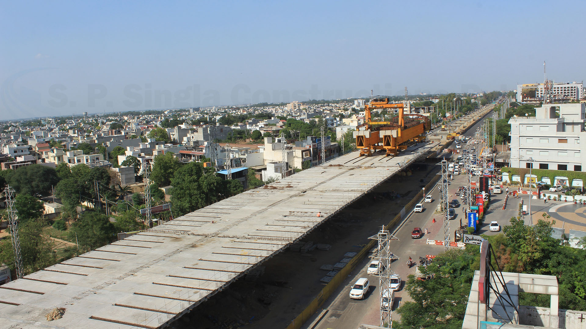 Partially access controlled 4 Lane Elevated Highway between Samrala Chowk to Ludhiana Municipal Limit of NH-95 in Punjab