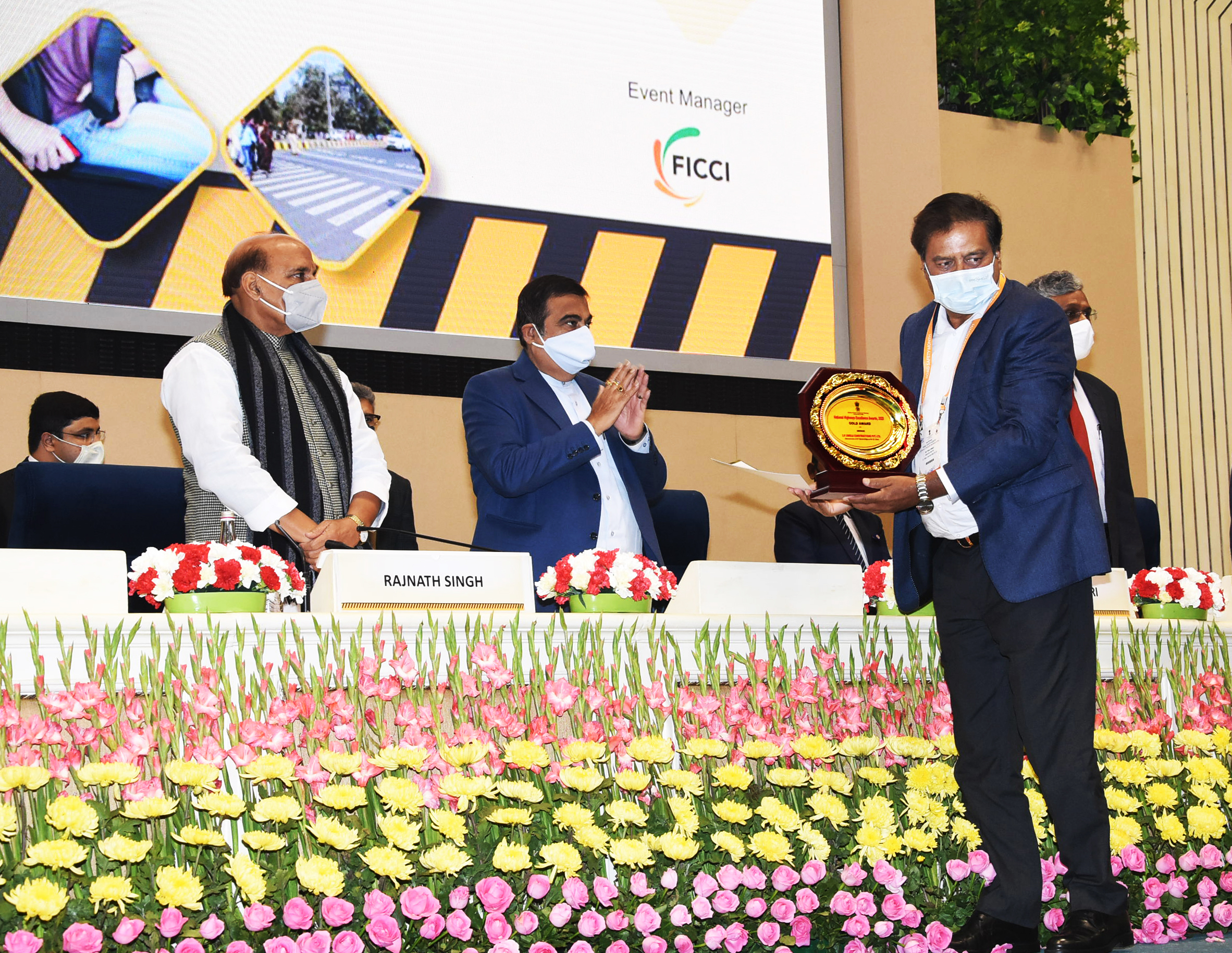 The company has been honoured with prestigious National Highways Excellence Award 2020 in Bridge catoegory by National Highway Authority of India (NHAI)